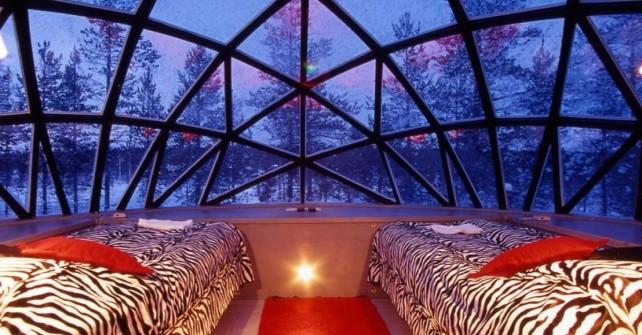 Che ne dici di passare una notte in un igloo in Italia?
